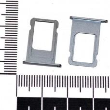 Держатель сим iPhone 6S серый