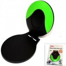Автодержатель для телефона №166 (липучка) JHD-29 черно-зеленый