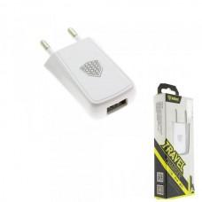 СЗУ-USB 1 выход max 1,0А INKAX CD-07 белая