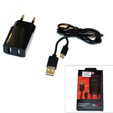 СЗУ (Micro USB) 1,2A (провод разъемный) PROVOLTZ черный