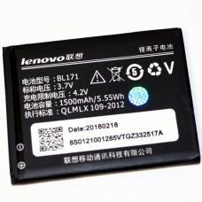 Аккумулятор Оригинал Азия Lenovo (BL171) A390/A500/A60/A356/A319 - (ТЕХ.УПАК)