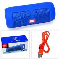 Колонка портативная JBL J006+ copy (BLUETOOTH, Micro SD, FM, USB) синяя