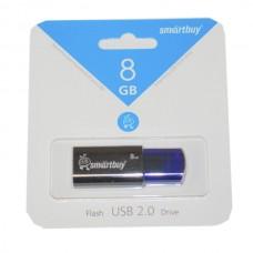 8GB USB 2.0 Flash Drive SmartBuy Click синий (SB8GBCL-B)