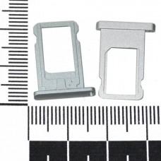 Держатель сим iPad mini серебро