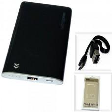 Аккумулятор внешний (Power Bank) REMAX Crave RPP-78 (USB выход 2,0A) 5000mA, черный