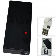 Аккумулятор внешний 10000mA REMAX Dot RPP-88 (USB выход 2,4A) черный