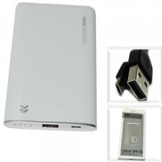 Аккумулятор внешний 5000mA REMAX Crave RPP-78 (USB выход 2,0A) белый