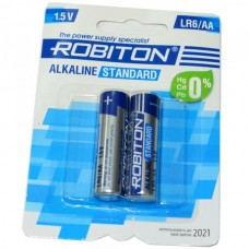 Батарейка алкалиновая Robiton Standard LR6 (блистер/2шт)