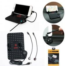 Автодержатель для телефона REMAX №174 на панель магнитный (iPhone 5, micro USB)
