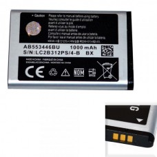 Аккумулятор Оригинал Азия Samsung B100 (AB553446BU)