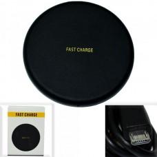 Беспроводная зарядная панель Q16 /Fast Charge/ черный