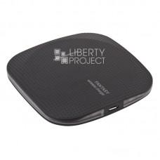 """Беспроводное зарядное устройство """"Fantasy"""" Filying Saucer Wireless Charger Qi (черное/коробка)"""