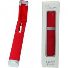МОНОПОД для селфи с кабелем 3,5 Yulupai красный