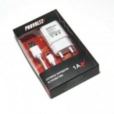 СЗУ (Micro USB) 1A (провод разъемный) PROVOLTZ белый