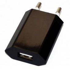 СЗУ-USB 1 выход max 1,0А (плоское) черная