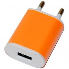 СЗУ-USB 1 выход max 1,0А Nokoko-1 оранжевый