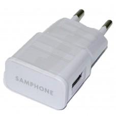 СЗУ-USB 1 выход max 1,0А Samphone (упаковка пакет)