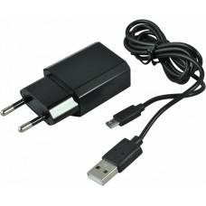 СЗУ (Micro USB) 1A (провод разъемный) PROVOLTZ черный