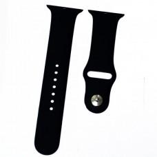 Ремешок Apple Watch (42 мм) силикон черный