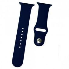 Ремешок Apple Watch (42 мм) силикон темно-синий