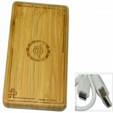 Аккумулятор внешний (Power Bank) Дерево OJD-N1 (USB выход 2,0A) 8000mA
