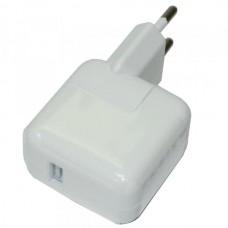СЗУ-USB 1 выход max 2,4А 12w iPad copy (упаковка пакет)