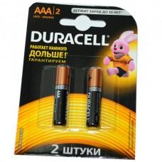 Батарейка алкалиновая Duracell LR03 (блистер/2шт)