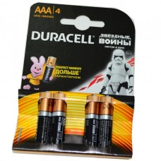 Батарейка алкалиновая Duracell LR03 (блистер/4шт)