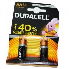 Батарейка алкалиновая Duracell LR6 (блистер/4шт)