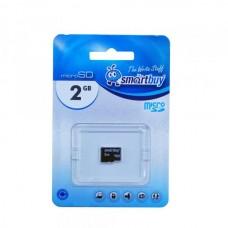 2GB SmartBuy MicroSD (Transflash) без адаптера