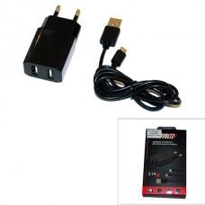 СЗУ (Micro USB) 2,1A (провод разъемный) PROVOLTZ черный